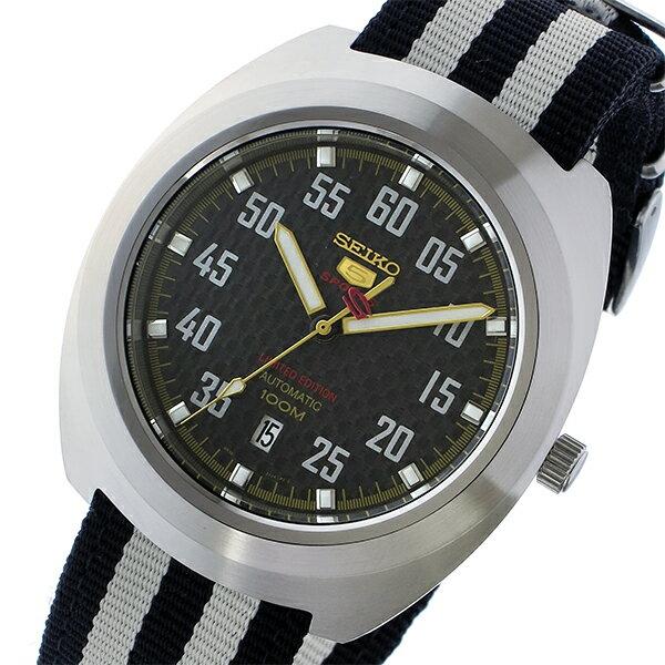 セイコー SEIKO セイコー5 スポーツ 5 SPORTS 自動巻き メンズ 腕時計 SRPA93K1 ブラック/ホワイト【送料無料】【_包装】 【送料無料】【ラッピング無料】