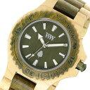 ウィーウッド WEWOOD 木製 DATE BEIGE ARMY デイト ユニセックス 腕時計 9818100 アーミー 国内正規