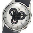 カルバンクライン CALVIN KLEIN クロノ クオーツ メンズ 腕時計 K2A27188 ホワイト【送料無料】【楽ギフ_包装】