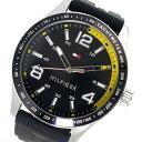 トミー ヒルフィガー TOMMY HILFIGER クオーツ メンズ 腕時計 1791174 ブラック【送料無料】
