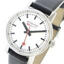 モンディーン MONDAINE エヴォ2 クオーツ レディース 腕時計 MSE.26110.LB ホワイト【送料無料】