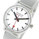 モンディーン MONDAINE エヴォ2 クオーツ レディース 腕時計 MSE.35110.SM ホワイト【送料無料】
