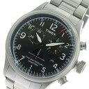 タイメックス TIMEX ウォーターベリー Waterbury クロノ クオーツ メンズ 腕時計 TW2R38400 ブラック/シルバー【送料無料】