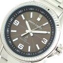 ピエールカルダン PIERRE CARDIN 腕時計 メンズ PC-790 クォーツ ソーラー電波時計 ブラウン シルバー