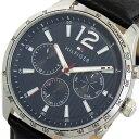 トミーヒルフィガー TOMMY HILFIGER 腕時計 メンズ 1791468 クォーツ ネイビー ブラック【送料無料】【楽ギフ_包装】