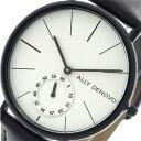 アリーデノヴォ ALLY DENOVO 腕時計 レディース 36mm AF5001-5 HERITAGE SMALL クォーツ ホワイト ブラック