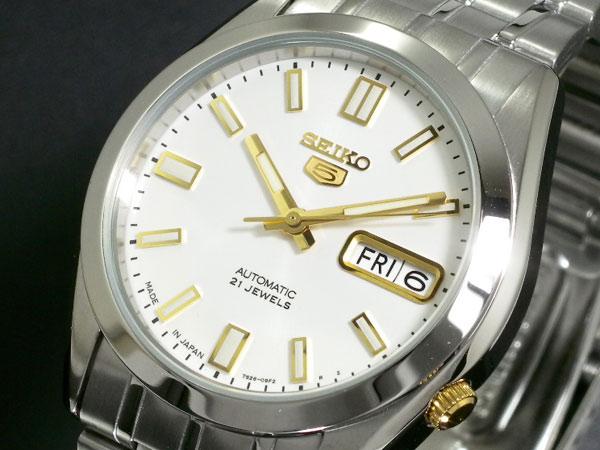 セイコー 5 SEIKO FIVE 腕時計 自動巻き メンズ SNKE81J1【_包装】