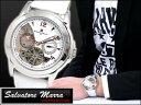 【89%OFF】【ラッピング無料】サルバトーレマーラ 腕時計 時計 流通限定モデル SM7012-SSWHPG【89%OFF】【セール】【YDKG 円高還元 ブランド】