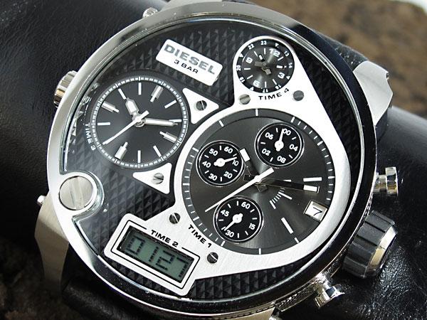 ディーゼル DIESEL 腕時計 トリプルタイム アナデジ DZ7125【対応】【送料無料】 【送料無料】