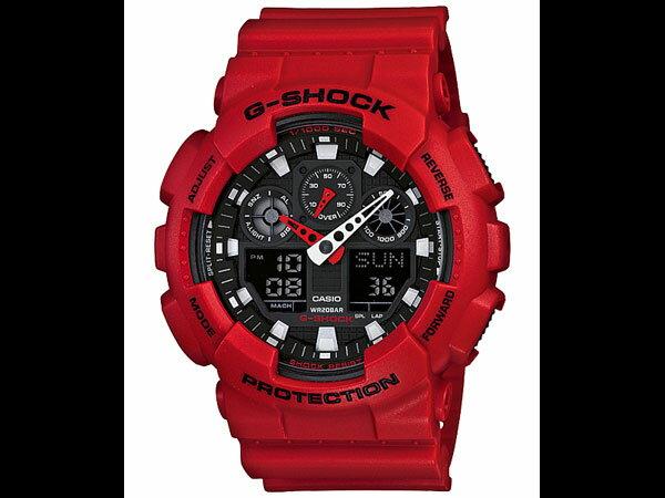 カシオ CASIO Gショック G-SHOCK 腕時計 GA-100B-4AJF【_包装】【送料無料】 【送料無料】