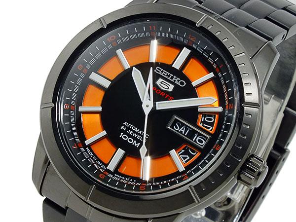 セイコー ファイブ SEIKO 5 スポーツ 自動巻き 腕時計 SRP345J1【_包装】【送料無料】 【送料無料】