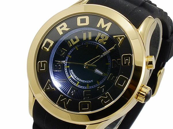 ロマゴ ROMAGO ATTRACTION クオーツ ユニセックス 腕時計 RM015-0162PL-GDBK【_包装】【送料無料】 【送料無料】みじかい
