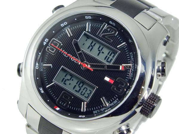 トミー ヒルフィガー TOMMY HILFIGER アナデジ メンズ クロノグラフ 腕時計 1790949【_包装】【送料無料】 【送料無料】