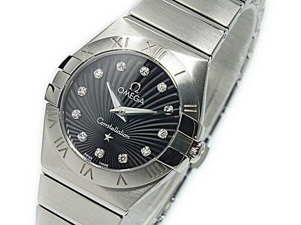 オメガ OMEGA コンステレーション クォーツ レディース 腕時計 12310246051001【送料無料】【_包装】 【送料無料】【ラッピング無料】