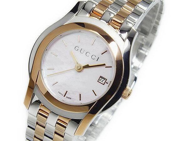 グッチ GUCCI Gクラス クォーツ レディース 腕時計 YA055539【_包装】【送料無料】 【送料無料】