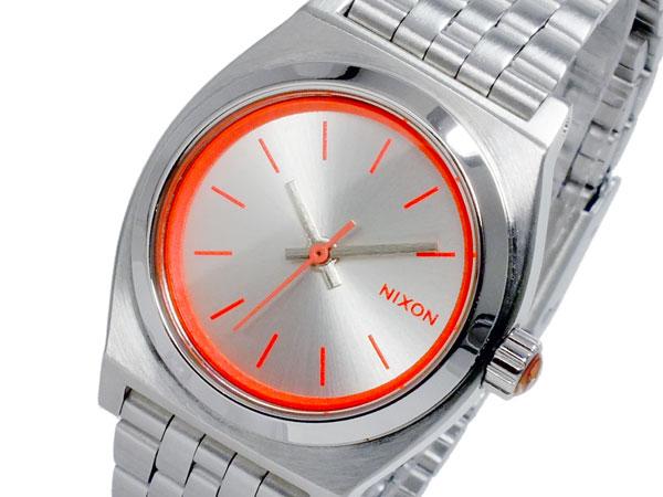 ニクソン NIXON スモール タイムテラー SMALL TIME TELLER 腕時計 時計 A399-1764 SILVER NEON PINK シルバー ネオン ピンク【_包装】 【ラッピング無料】