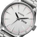 ニクソン NIXON セントリー SS クオーツ メンズ 腕時計 A356-130 シルバー【送料無料】【楽ギフ_包装】