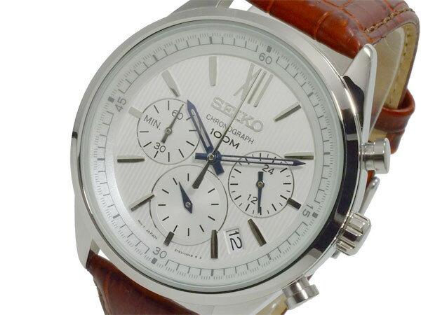 セイコー SEIKO クロノ クオーツ メンズ 腕時計 SSB157P1【送料無料】【_包装】 【送料無料】【ラッピング無料】
