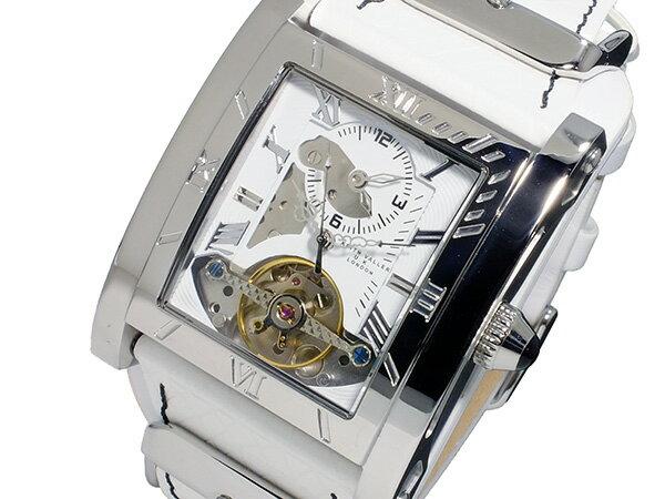キース バリー KEITH VALLER 自動巻き メンズ 腕時計 SDT2-WH ホワイト【送料無料】【_包装】 【送料無料】【ラッピング無料】【レア】