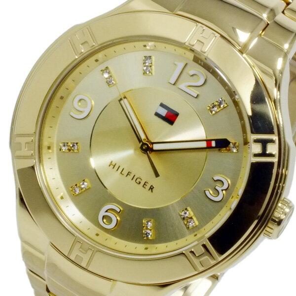 トミー ヒルフィガー TOMMY レディース クオーツ 腕時計 1781446 ゴールド【送料無料】【_包装】 【送料無料】【ラッピング無料】