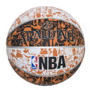 バスケットボール(NBA公認) グラフィティ オレンジ 7号球 73-722Z スポルディング SPALDING(代引不可)
