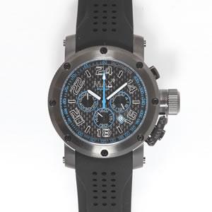 MAX マックス 腕時計 MAX532 47mm Big Face ブラック ブラック クロノグラフ ウォッチ 国内正規商品【送料無料】 【送料無料】