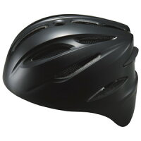 ZETT(ゼット) BHL40S ソフト捕手用ヘルメット ブラック S(52〜54cm)【送料無料】【S1】の画像