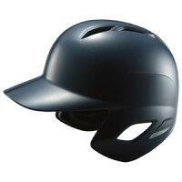 ZETT(ゼット) BHL370 軟式打者用ヘルメット ネイビー M(55〜57cm)の画像