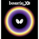 バタフライ(Butterfly) 表ラバー IMPARTIAL XB(インパーシャルXB) 00410 【カラー】レッド 【サイズ】TA