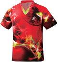 ニッタク(Nittaku) ニッタク スカイマジカルシャツ NW2162 【カラー】レッド 【サイズ】2XO