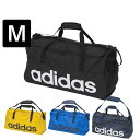 adidas(アディダス) ボストンバッグ リニアチームバッグ M ダッフルバッグ ショルダーバッグ スポーツバッグ ジム 部活