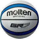 モルテン(Molten) ゴムバスケットボール7号球 GR7(ホワイト×ブルー) BGR7WB