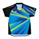 TSP 卓球ゲームシャツ プラネシャツ(男女兼用) 031424 【カラー】ブルー 【サイズ】XS【送料無料】