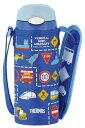 サーモス THERMOS 真空断熱ストローボトル 【ワンタッチオープンタイプ】 0.36L ブルー FFI-400F BL (14/10/7欠品中)【送料無料】