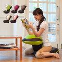 座椅子 リクライニング 背筋がGUUUN 美姿勢座椅子 クッション 腰痛 椅子 コンパクト 骨盤矯正 0070-2058【送料無料】
