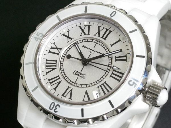 Mauro Jerardi 腕時計 セラミック メンズ MJ001G-2【送料無料】 【送料無料】