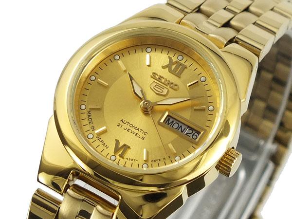 セイコー5 SEIKO ファイブ 腕時計 自動巻き レディース SYMG80J1【ラッピング無料】【_包装】【送料無料】 【送料無料】【ラッピング無料】
