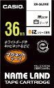 カシオ ネームランド用マグネットテープ36mm【XR-36JWE】(OA・事務用品・ラベル用品)【S1】