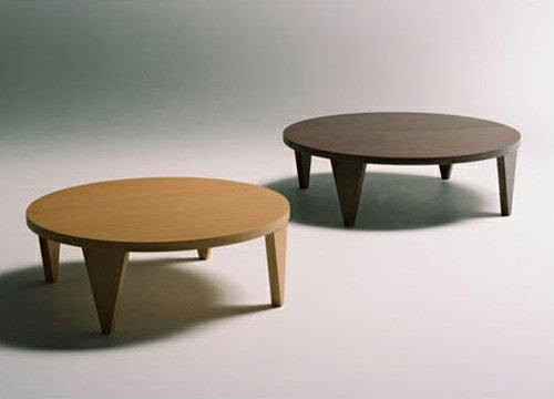 折りたたみ ラウンド テーブル 円形(幅105)(き)【送料無料】 【送料無料】和風モダン デザイン リビングテーブル ラウンド