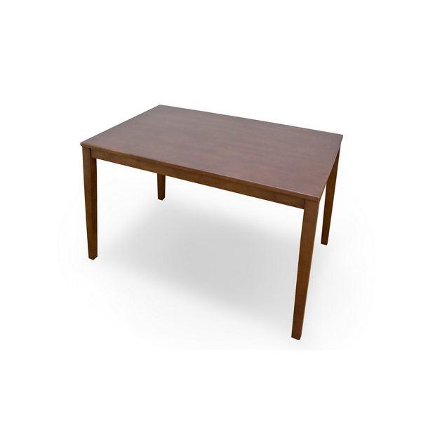 VLS-115BR (2.7)サニー ダイニングテーブル 115幅 ブラウン【】 食卓机にぴったりのおしゃれでシンプルなテーブル【人気のあります】