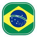 ワールドクリエイト フラッグコースター(6枚入) 59217 ブラジル PKCV404【S1】