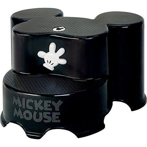 錦化成 ミッキーマウス ステップ2段 ブラック