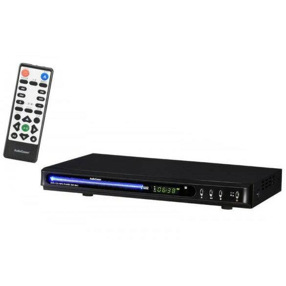 OHM 09-0384 HDMI端子付DVDプレーヤー384 黒 DVD-384Z【送料無料】