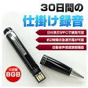 ベセトジャパン 仕掛録音30日ペン型ボイスレコーダー VR-P005N【送料無料】【smtb-f】