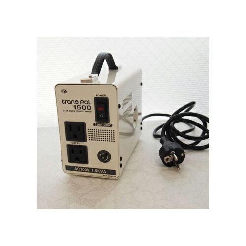 スワロー電機 受注生産のため納期約2週間ダウントランス 220・230V→100V / 1500W PAL-1500EP【送料無料】【smtb-f】
