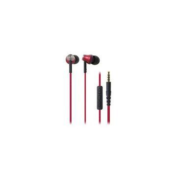 Audio-Technica オーディオテクニカ iPod/iPhone/iPad専用インナーイヤーヘッドホン レッド ATH-CK330i-RD 家電