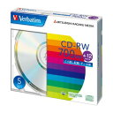 三菱化学メディア データー用CD-RW 700MB 4-12倍速対応 1 個 SW80EU5V1 文房具 オフィス 用品