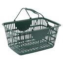 籃子 - ナンシン ショッピングバスケット ダークグリーン365×510 1 個 NSW-33 文房具 オフィス 用品