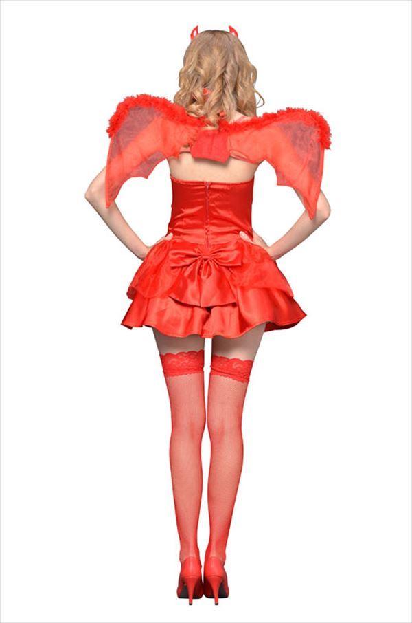 NYW_2102-40 レッドデビル S コスプレ 衣装 ハロウィン レディース 悪魔(代引不可):リコメン堂生活館