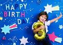 イエスタ Happy Birthday ポップスター 誕生日 記念 写真 記念写真 お祝い 祝い(代引不可)